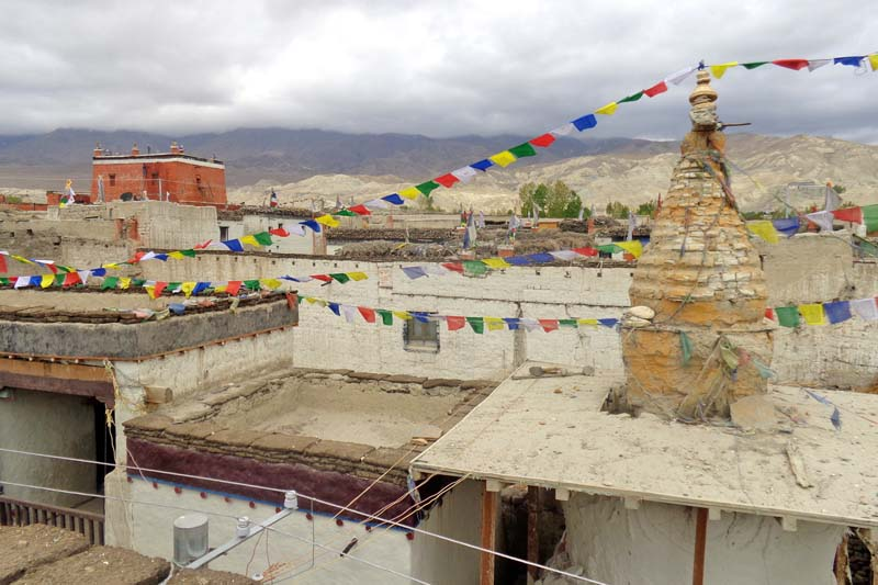 FILE: A picturesque view of the Lomanthang-based palace and monastery in Mustang district, as seen on Sunday, July 17, 2016. Annually, the place welcomes hundreds of both local and foreign tourists. Photo: RSS