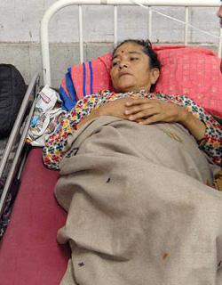 File photo of Ganga Maya Adhikari. Photo: THT