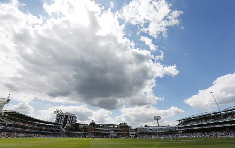 General viewn of Lord's Cricket ground as seen on Thursday, July 14, 2016. Photo: Reuters