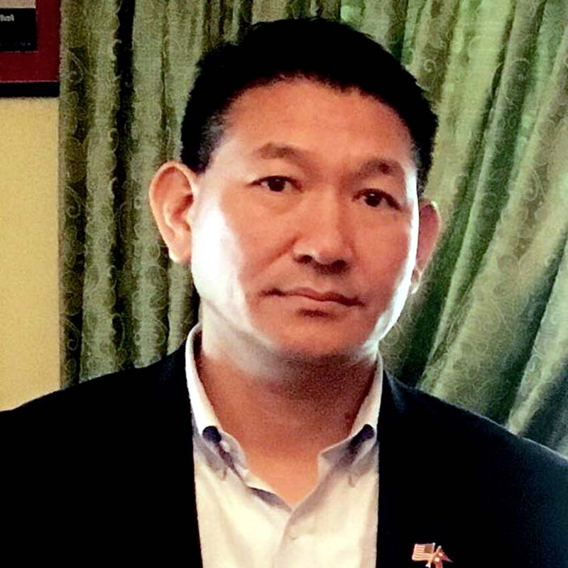 Nepal's Honorary Consul for Seattle AC Sherpa. Photo: THT Online/ File