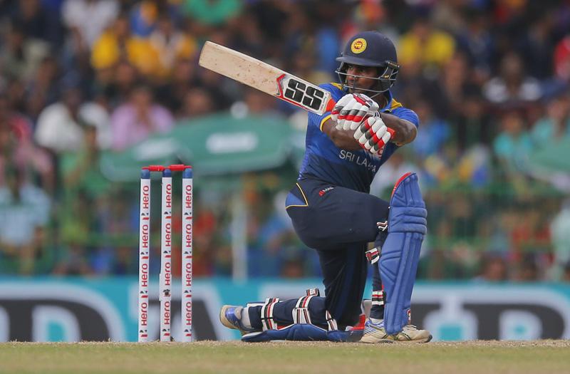 Sri Lanka's Kusal Perera plays shot against Australia during their second one day international cricket match in Colombo, Sri Lanka, Wednesday, August 24, 2016. Photo: AP