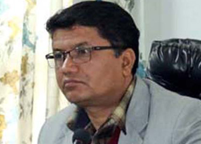 File photo of CPN-UML leader Rabindra Adhikari. Photo: THT