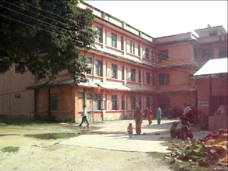 File photo of Sagarmatha Zonal hospital in Rajbiraj. Photo: THT