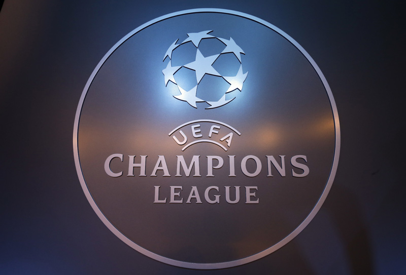 Logo of UEFA Champions League is displayed during the UEFA Champions League draw at the Grimaldi Forum, in Monaco, Thursday, August 25, 2016. Photo: AP