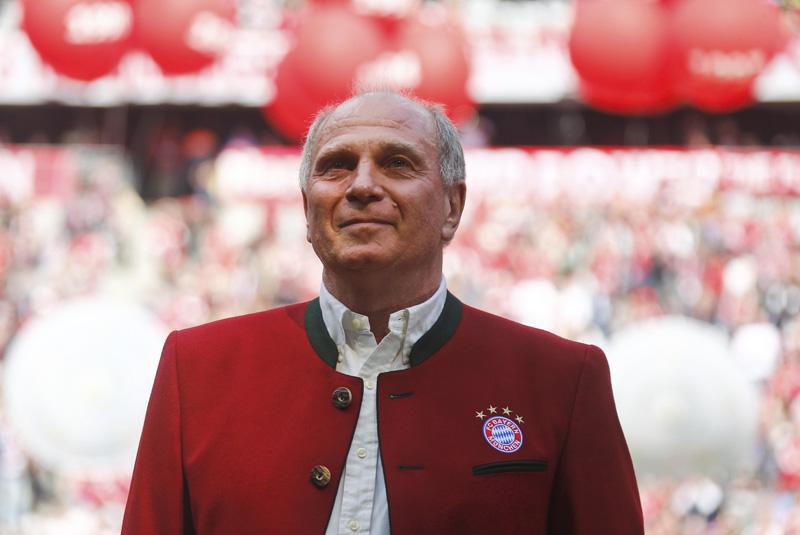 Bayern Munich's Ulli Hoeness. Photo: Reuters