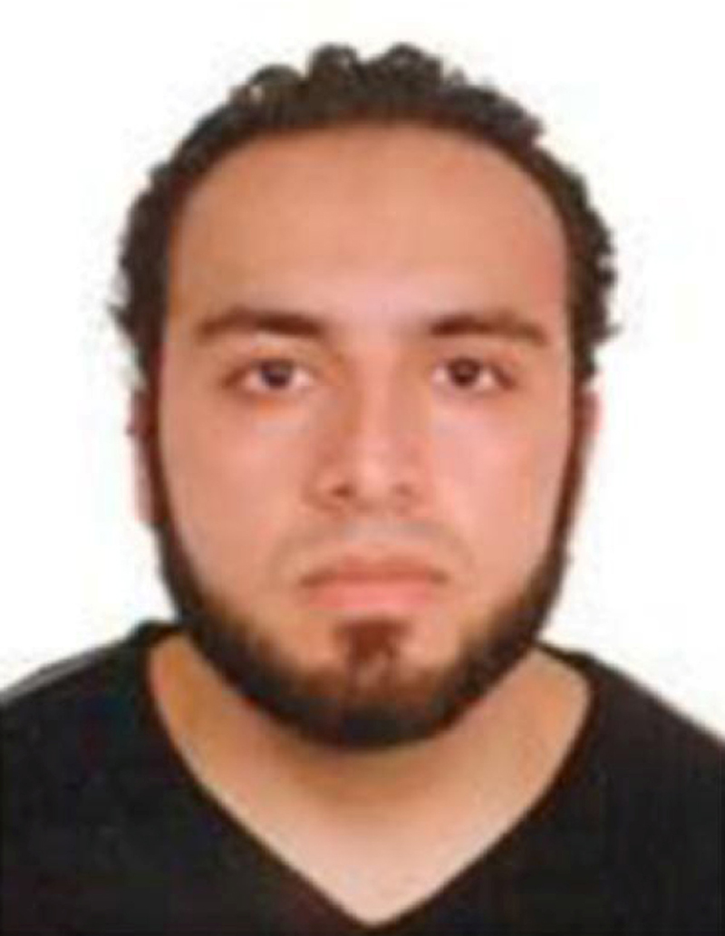 An image of Ahmad Khan Rahami, who is wanted for questioning in connection with an explosion in New York City, is seen in a a poster released by the Federal Bureau of Investigation (FBI) on September 19, 2016. FBI/Handout via Reuters