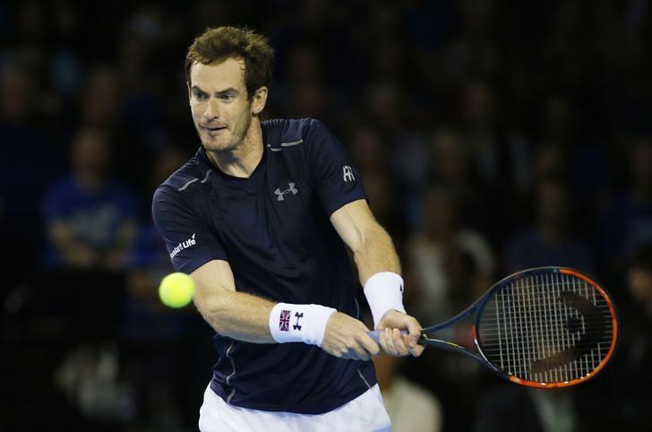 Britain Tennis - Great Britain v Argentina - Davis Cup Semi Final - Emirates Arena, Glasgow, Scotland - 16/9/16nGreat Britain's Andy Murray in action against Argentina's Juan Martin del PotronAction Images via Reuters / Andrew Boyers/ Livepic