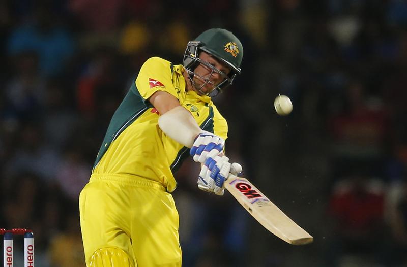 Australia's Travis Head plays a shot against Sri Lanka during their first twenty20 cricket match in Pallekele, Sri Lanka, Tuesday, Sept. 6, 2016. Photo: AP