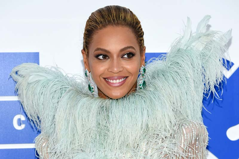 File- Beyonce Knowles arrives at the MTV Video Music Awards at Madison Square Garden, in New York, on August 28, 2016. Photo: AP