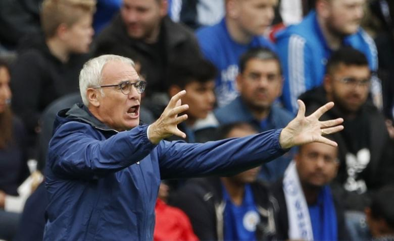 Football Soccer Britain - Leicester City v Burnley - Premier League - King Power Stadium - 17/9/16nLeicester City manager Claudio Ranieri nAction Images via Reuters / John SibleynLivepic