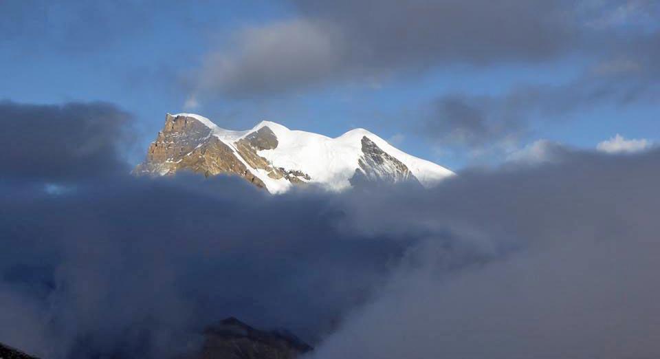 Himlung Himal. Photo: Kobler & Partner/Facebook
