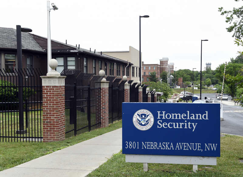 FILE - In this June 5, 2015 file photo, a view of the Homeland Security Department headquarters in Washington. Photo: AP
