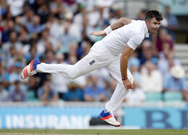 Britain Cricket - England v Pakistan - Fourth Test - Kia Oval - 13/8/16nEngland's James Anderson in actionnAction Images via Reuters / Paul Childs/ Livepic
