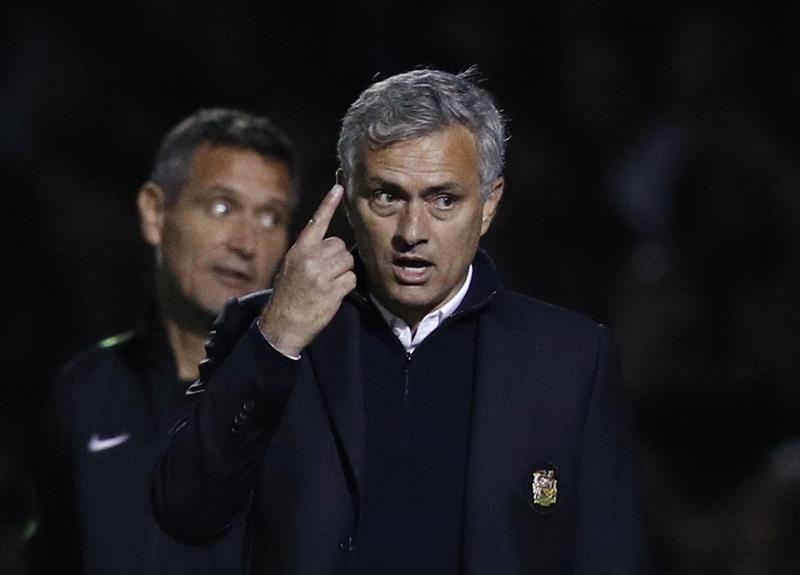 Manchester United manager Jose Mourinho. Photo: Reuters