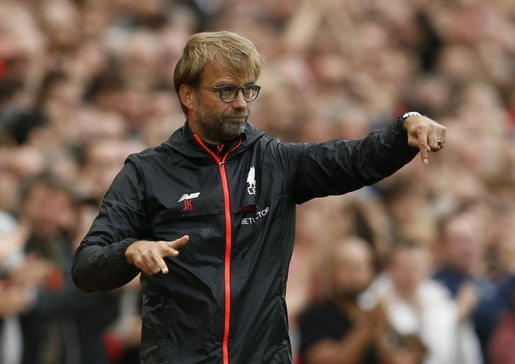 Britain Football Soccer - Liverpool v Hull City - Premier League - Anfield - 24/9/16nLiverpool manager Juergen Klopp nAction Images via Reuters / Andrew BoyersnLivepic