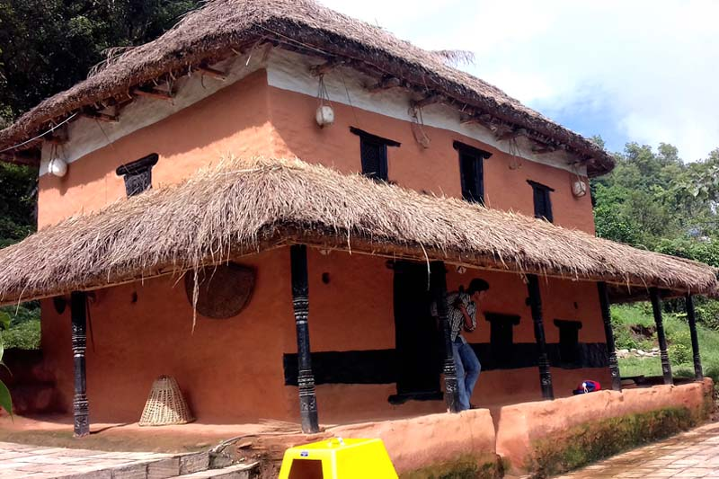 The house where Kavi Shiromani Lekhanath Paudyal's was born, in Arghau Archale village in Kaski district, as pictured on Monday, September 05, 2016. Preparations are being made to develop the village, including Paudyal's house, as an attraction for literary tourists. Photo: RSS