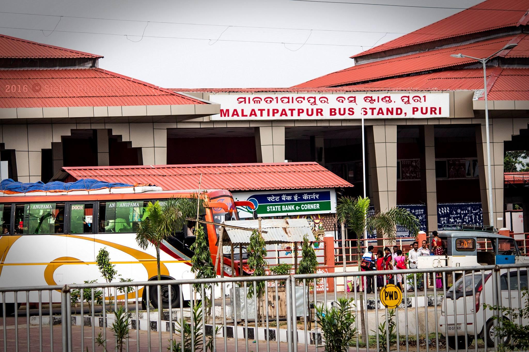 Malatipatpur bus stand. Photo: Facebook