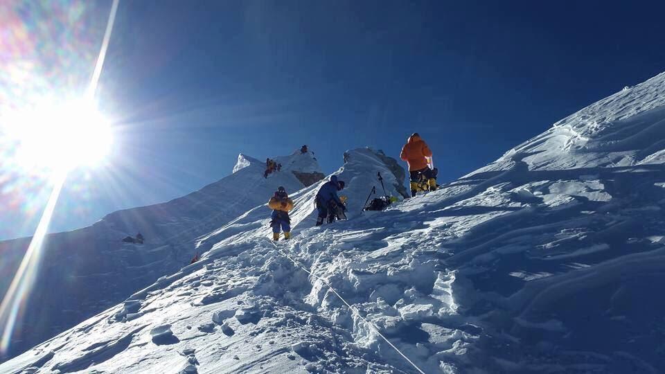 Mt Manaslu. File photo