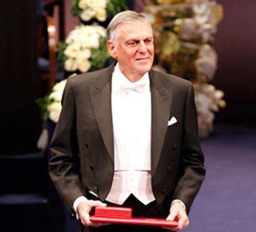 Nobel Laureate Dan Shechtman. Photo: The Nobel Foundation