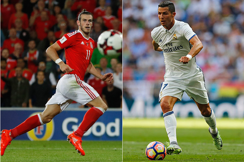 File photo of Real Madrid's attacking duo of Gareth Bale (left) and Cristiano Ronaldo. Photos: Reuters