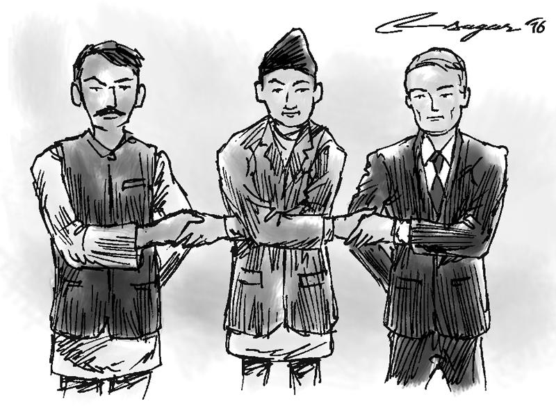 Nepal-India-US