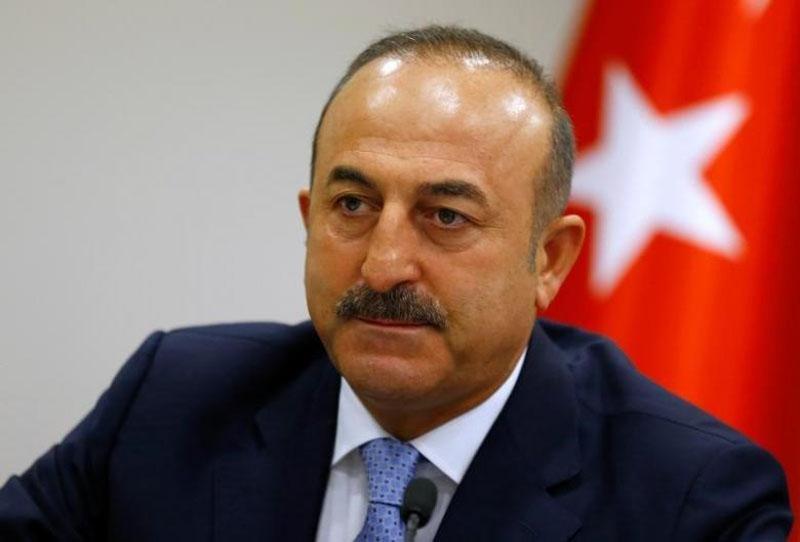 Turkey's Foreign Minister Mevlut Cavusoglu addresses the media in Ankara, Turkey, on July 29, 2016. Photo: Reuters