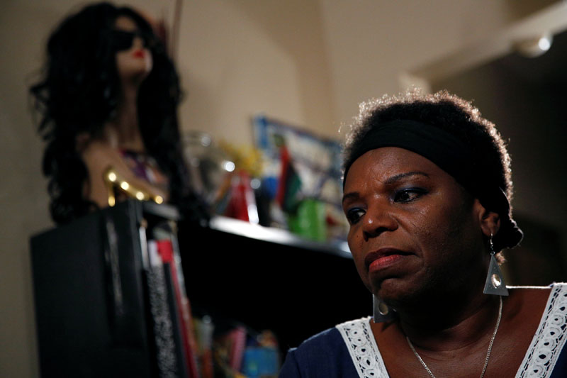 Tanya Walker, a 53-year-old transgender woman, activist and advocate, gives an interview at her apartment in New York City, US September 7, 2016. Picture taken September 7, 2016. Photo: REUTERS