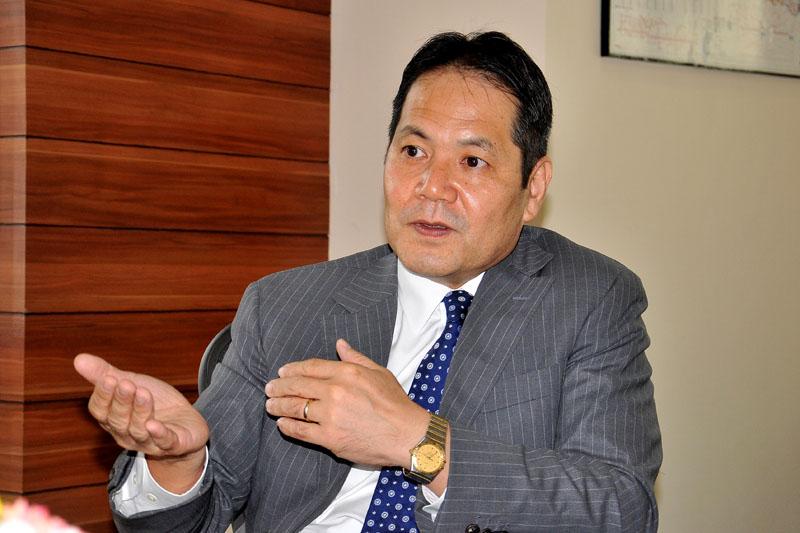 Interview with World Bank Country Manager for Nepal, Takuya Kamata in Kathmandu on Sunday, September 4, 2016. PHOTO: Balkrishna Thapa Chhetri/THT