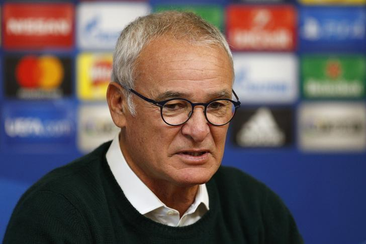 Britain Football Soccer - Leicester City Press Conference - Leicester City Training Ground & King Power Stadium, Leicester, England - 17/10/16nLeicester City manager Claudio Ranieri during the press conferencenAction Images via Reuters / Andrew BoyersnLivepic