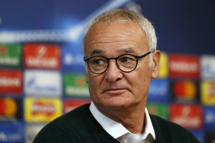 Britain Football Soccer - Leicester City Press Conference - Leicester City Training Ground & King Power Stadium, Leicester, England - 17/10/16nLeicester City manager Claudio Ranieri during the press conferencenAction Images via Reuters / Andrew Boyers/ Livepic