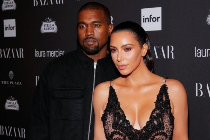 Kanye West and Kim Kardashian attend Harper's Bazaar's celebration of 'ICONS By Carine Roitfeld' at The Plaza Hotel during New York Fashion Week in Manhattan, New York, U.S., September 9, 2016.  REUTERS/Andrew Kelly/files