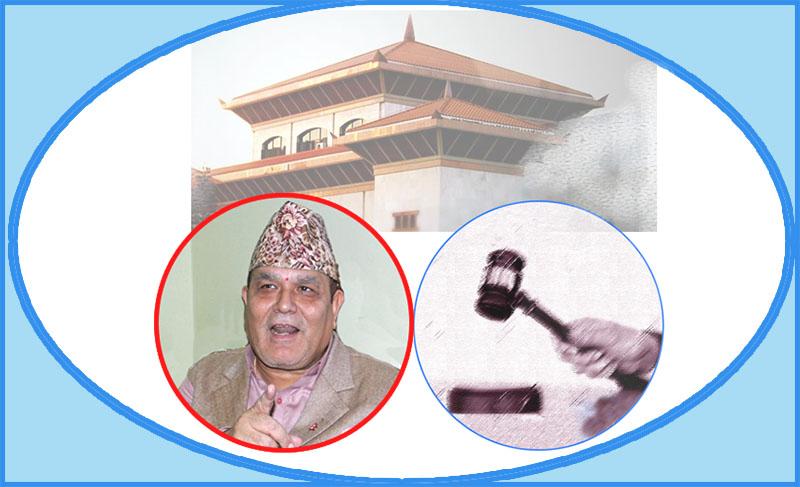 Lok Man Singh Karki faces impeachment motion at the Parliament.