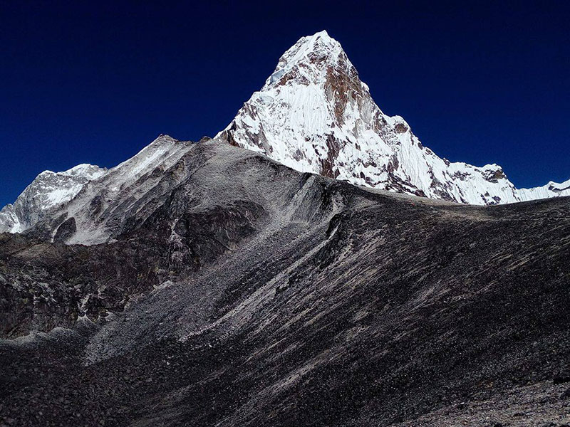 View of Mount Ama Dablam. Photo courtesy: Nima Gyalzen Sherpa