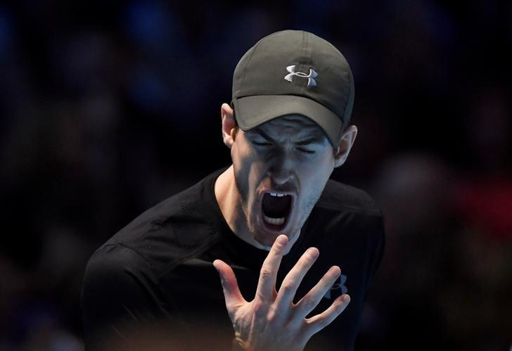 Britain Tennis - Barclays ATP World Tour Finals - O2 Arena, London - 19/11/16 Great Britain's Andy Murray looks dejected during his semi final match against Canada's Milos Raonic Reuters / Toby Melville Livepic