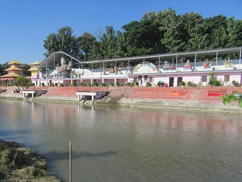 Budhi Ganga-Jamuna Ghat developed as Sundar Ghat in Itahari of Sunsari district, on Saturday, November 5, 2016. Photo: RSS