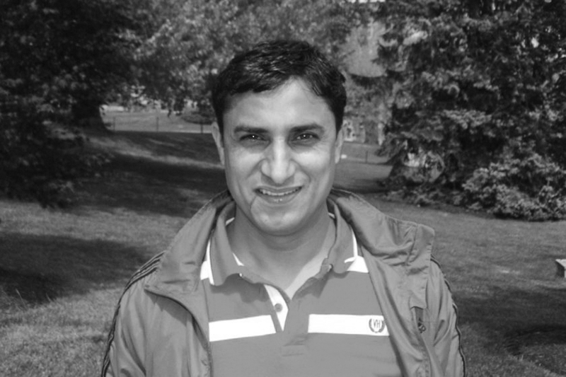 This undated photo shows Nepali business journalist Sanjay Neupane in Virginia, US. Neupane passed away on Saturday, November 5, 2016. He was 44. Photo courtesy: Sanjay Neupane Facebook