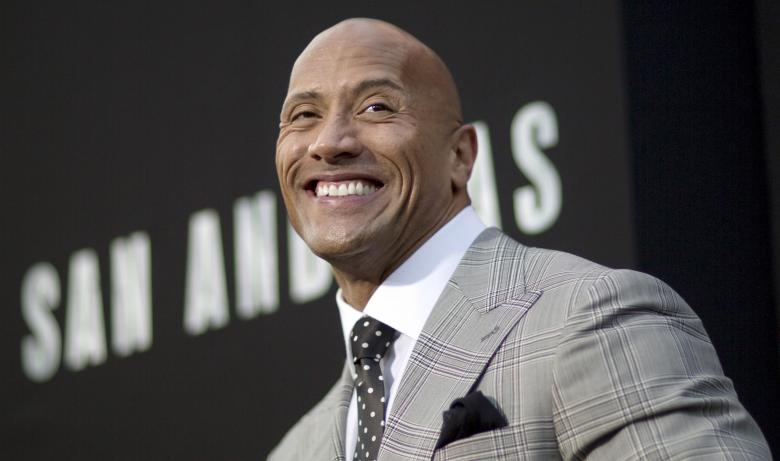 Actor Dwayne Johnson poses at the premiere of 'San Andreas' in Hollywood, California, U.S. May 26, 2015.    REUTERS/Mario Anzuoni/File Photo