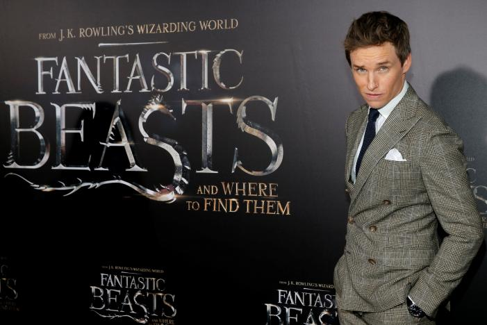 Actor Eddie Redmayne attends the premiere of u201cFantastic Beasts and Where to Find Themu201d in Manhattan, New York, U.S., November 10, 2016.  REUTERS/Andrew Kelly