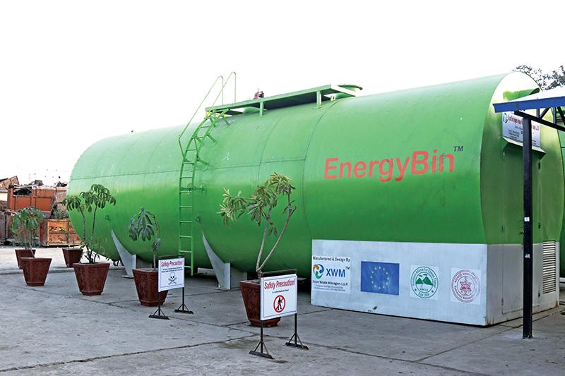 Energy Bin. Photo: Ranup Shrestha/THT