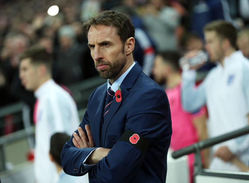 England interim manager Gareth Southgate. Photo: Reuters