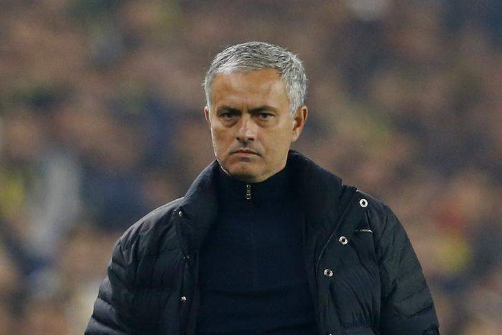 Football Soccer - Fenerbahce SK v Manchester United - UEFA Europa League Group Stage - Group A - SK Sukru Saracoglu Stadium, Istanbul, Turkey - 3/11/16 Manchester United manager Jose Mourinho  Reuters / Murad Sezer Livepic