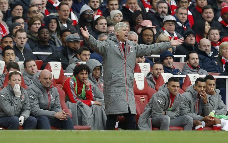 Britain Football Soccer - Arsenal v Tottenham Hotspur - Premier League - Emirates Stadium - 6/11/16 Arsenal manager Arsene Wenger Action Images via Reuters / Andrew Couldridge Livepic