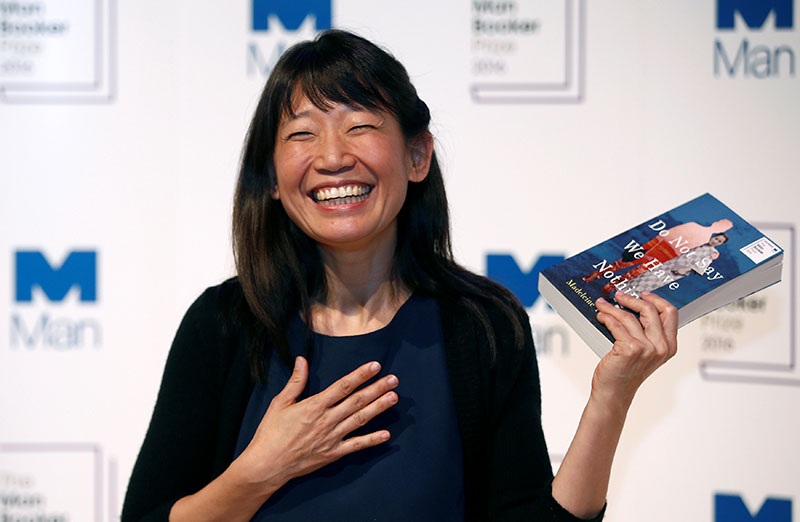 Author Madeleine Thien poses for photographs during a photo-call in London for the six Man Booker shortlisted fiction authors, on the eve of the prize giving in London, Britain October 24, 2016.Photo: REUTERS