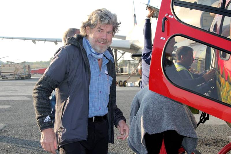 FILE-Legendary mountaineer from Italy, Reinhold Messner. Courtesy: Thamserku Trekking