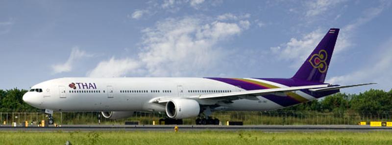 A Thai Airways Boeing 777-300. Photo: Thai Airways
