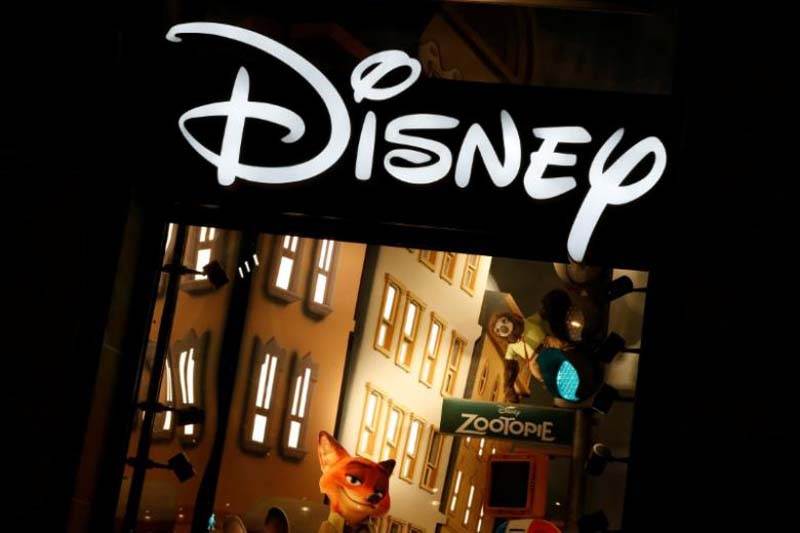 The logo of the Disney store on the Champs Elysee is seen in Paris, France, March 3, 2016. Photo: Reuters