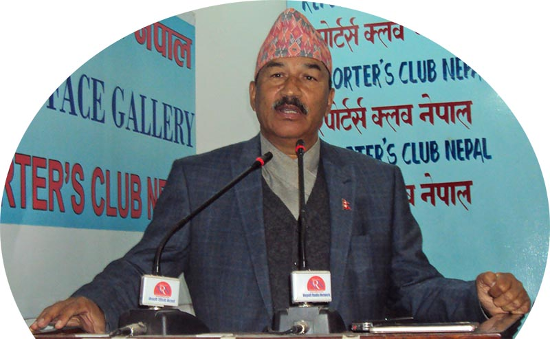 FILE: Rastriya Prajatantra Party Chairman Kamal Thapa. Photo: RSS