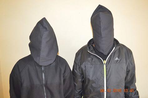The suspects were paraded by the Metropolitan Police Range, Lalitpur.