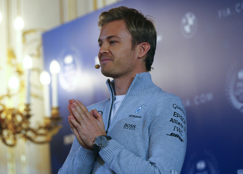 Mercedes' Formula One World Champion Nico Rosberg of Germany speaks during a news conference as he announces his retirement in Vienna, Austria December 2, 2016. Photo: Reuters