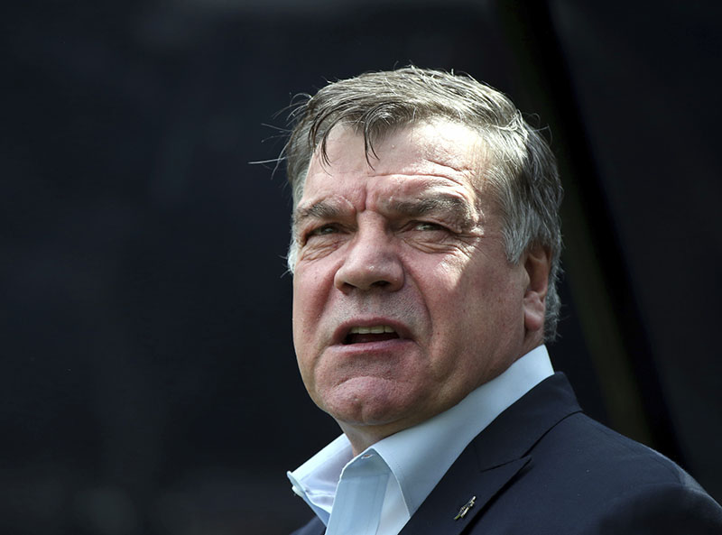 FILE - Sam Allardyce waits at the start of the English Premier League soccer match between Newcastle United and West Ham United's at St James' Park, Newcastle, England, on Sunday, May 24, 2015. Photo: AP